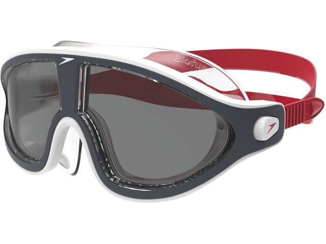 speedo Biofuse Rift V2 - Gafas de natación - gris/rojo